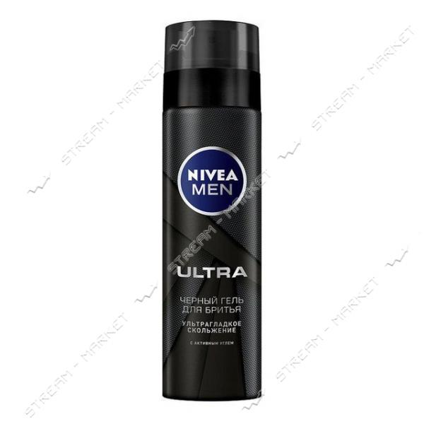 Гель для бритья NIVEA FOR MEN С активным углем 200мл