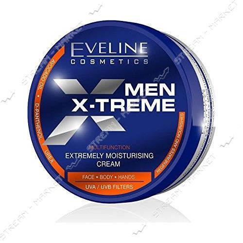 Мультифункциональный крем EVELINE MEN EXTREME для мужчин Экстремальное увлажнение 200мл