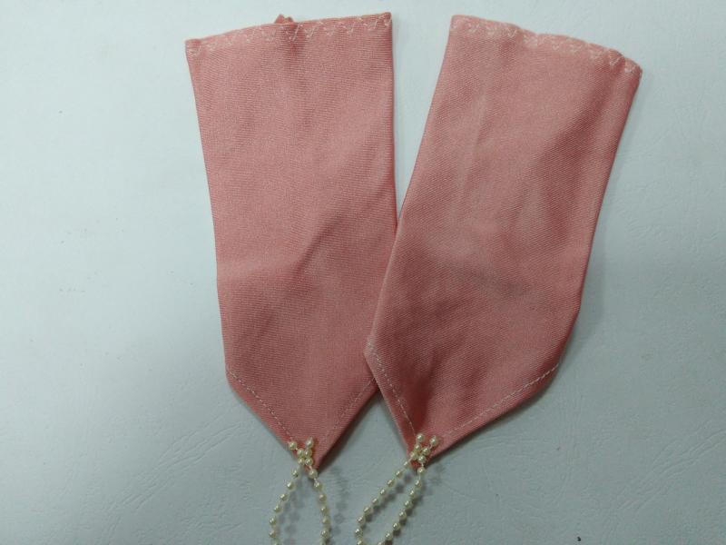 Детские перчатки коралловые