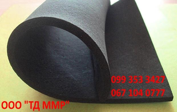 Техпластина резиновая пористая губчатая ТУ 38-105-321-86, техническая пластина