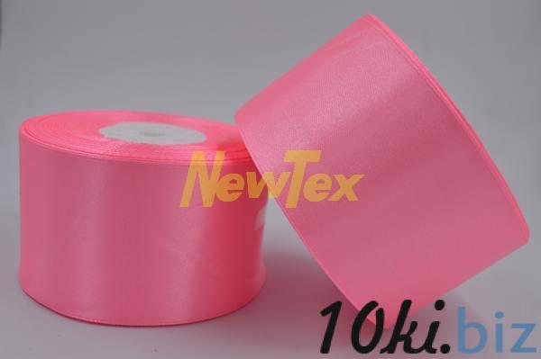 Атласная лента 5 см, розовый 05 Декор для шитья и рукоделия в России