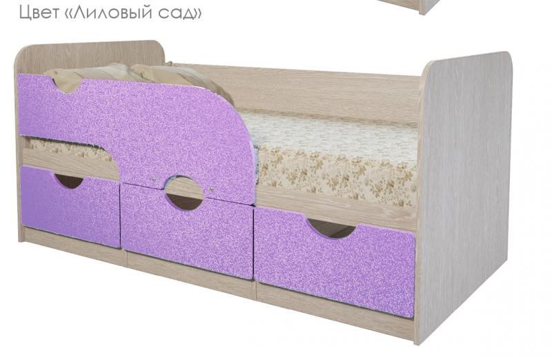 Фото Детская мебель Кровать детская Минима МДФ