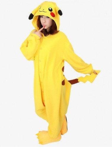 """Кигуруми (пижама-комбинезон) """"Пикачу"""" желтая размер S, M, L, XL"""