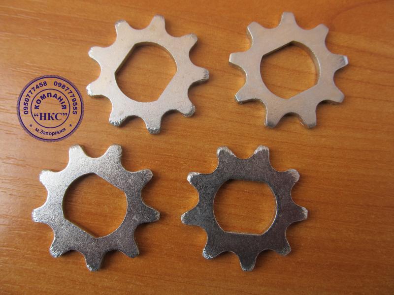 Звёздочки (зерновые) под цепь СПР-12,7-900-2 к сеялке СПЧ-6,СПЧ-6М (румынка).