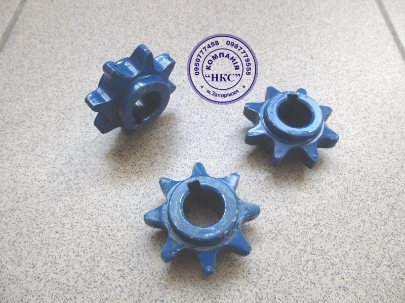 Звёздочки (мин.удобрения) под цепь ПР-19,05-3180 к сеялке СПЧ-6,СПЧ-6М (румынка).