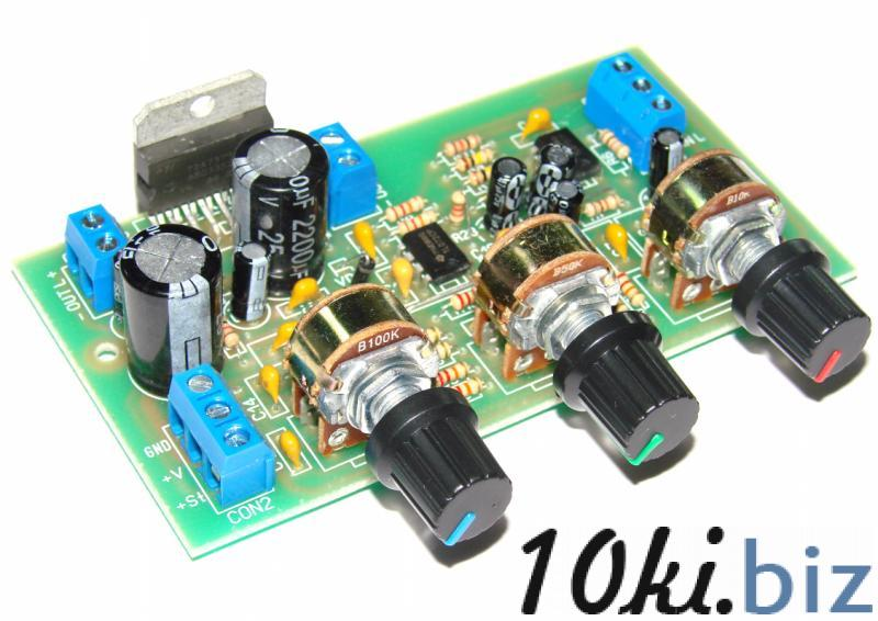 Стерео УНЧ 2х30W TDA7379 с активным темброблоком Устройства обработки звукового сигнала на Электронном рынке Украины