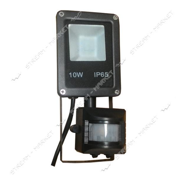 Прожектор Led Electro House EH-LP-211 IP65 10W 6500К с датчиком движения