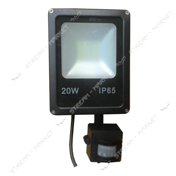 Прожектор Led Electro House EH-LP-212 20W IP65 6500К с датчиком движения