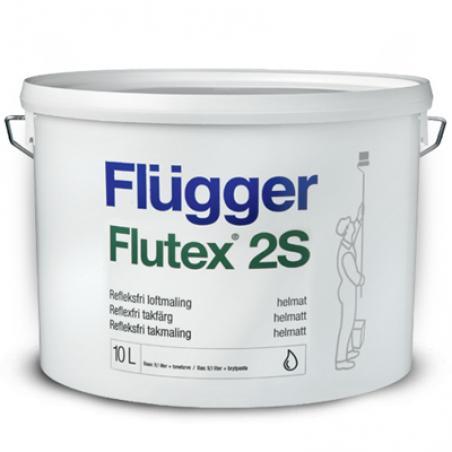 Краска для потолка FLUGGER FLUTEX 2S 10 л