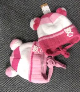 Фото Шапки, перчатки, наушники, шарфы ЗИМА. Шапка МИШУТКА 36-38рр