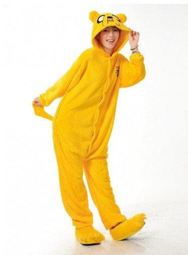 """Кигуруми (пижама-комбинезон) """"Пес Джейк"""" желтая размер S, M, L, XL"""
