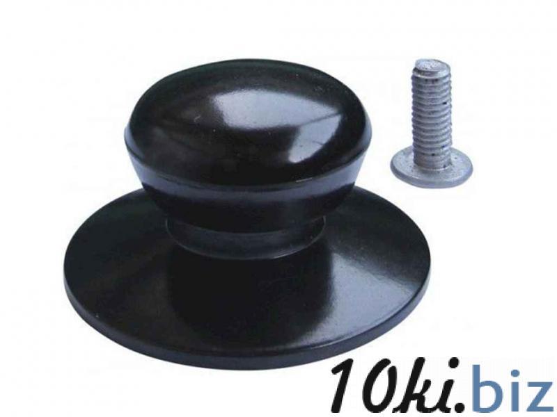 Ручка для крышки эбонитовая чёрная Комплектующие для кухонной посуды  в Украине