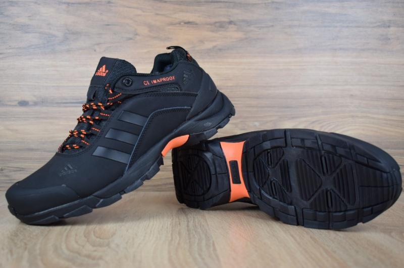 Фото  Adidas ClimaProof Black Orange (41-45)
