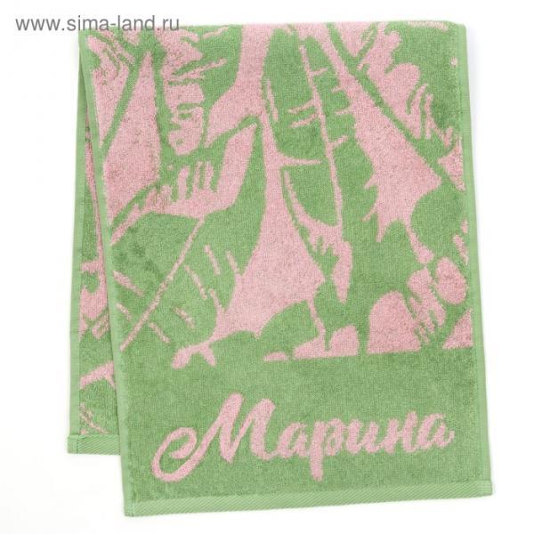 """Полотенце махровое """"Марина"""" 30х70 см 100% хлопок, 420гр/м2"""