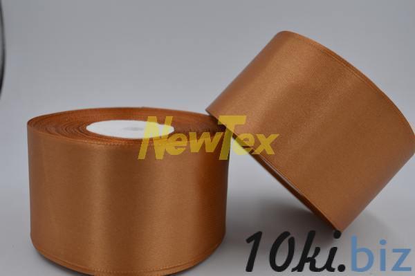 Атласная лента 5 см, светло-коричневый 158 Декор для шитья и рукоделия в России