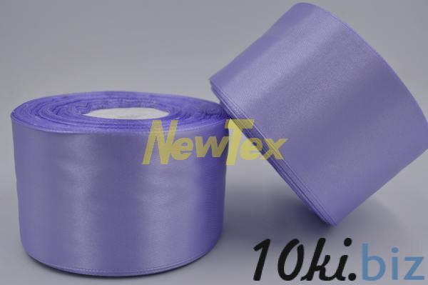 Атласная лента 5 см, нежно-сиреневый 191 Декор для шитья и рукоделия в России