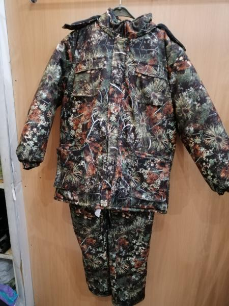 Зимний костюм ''Зеленый хвойный лес''