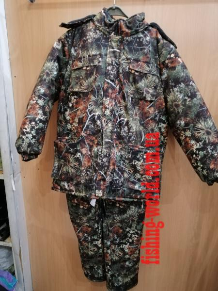 Фото Одежда для рыбаков и охотников, Зимние костюмы (Харьков) Зимний костюм ''Зеленый хвойный лес''