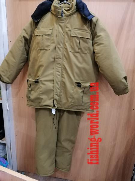 Фото Одежда для рыбаков и охотников, Зимние костюмы (Харьков) Зимний костюм ''Однотонный, Олива''