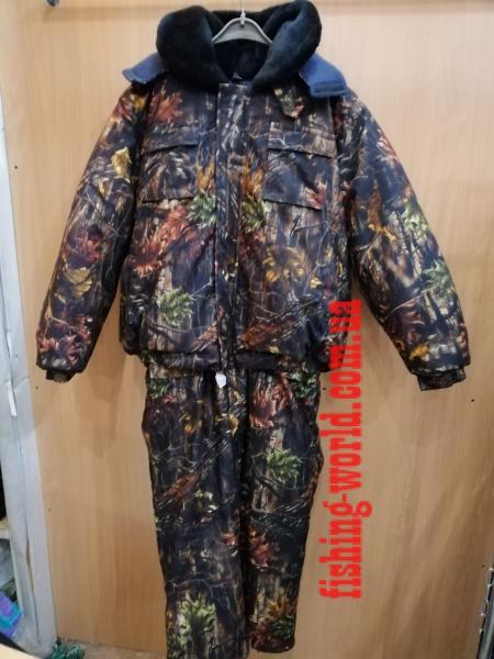 Фото Одежда для рыбаков и охотников, Зимние костюмы (Харьков) Зимний костюм [куртка 'пилот'] ''Лес Темный''