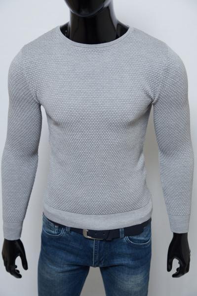 Свитер мужской Figo 6598 серый