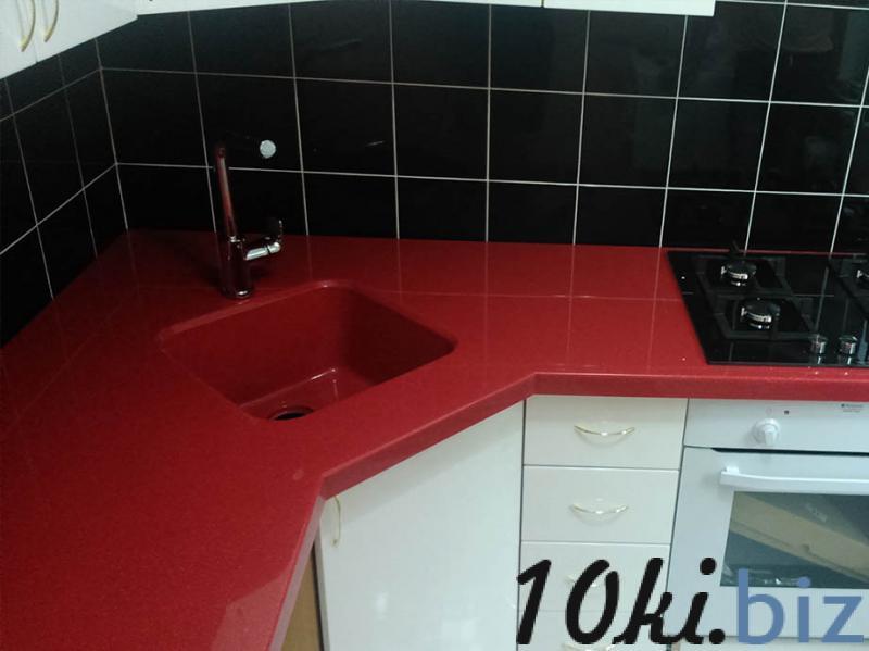 Столешница для кухни из искусственного камня с мойкой от производителя на заказ в Гродно купить в Гродно - Столешницы и комплектующие