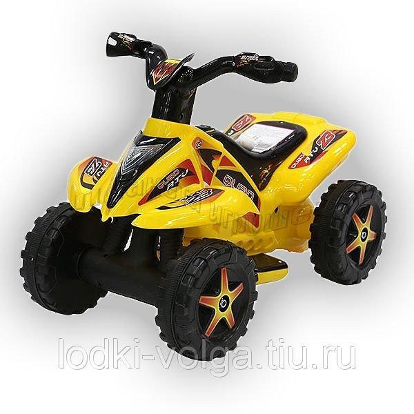 Машинка электрическая TR1002 (Квадроцикл) желтый