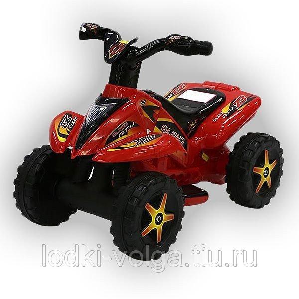 Машинка электрическая TR1002 (Квадроцикл) красный