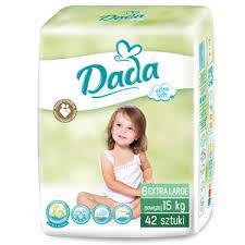 Подгузники детские DADA 6, 42 штуки., от 15 кг.