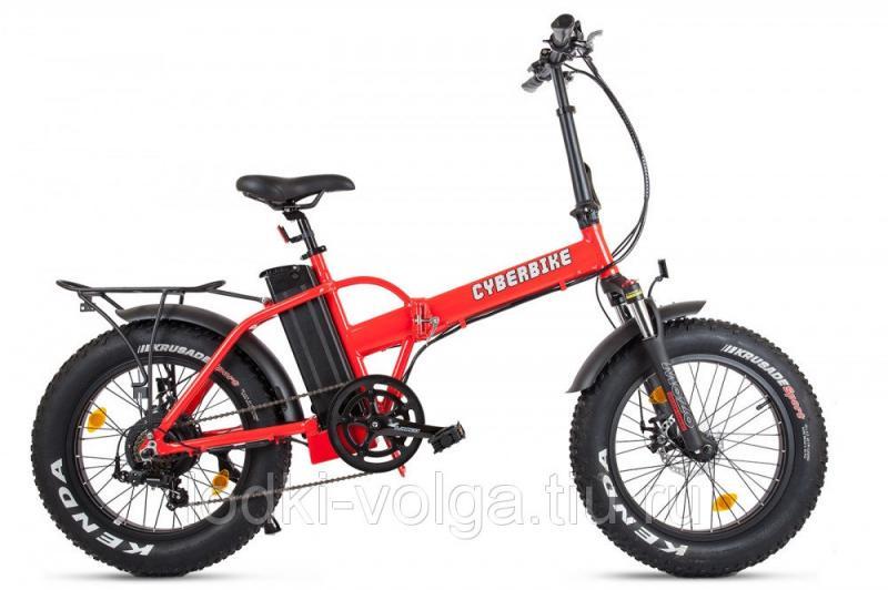 Велогибрид Cyberbike 500 Вт Красно-черный-1857