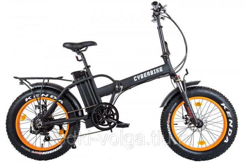 Велогибрид Cyberbike 500 Вт Оранжево-черный-1873