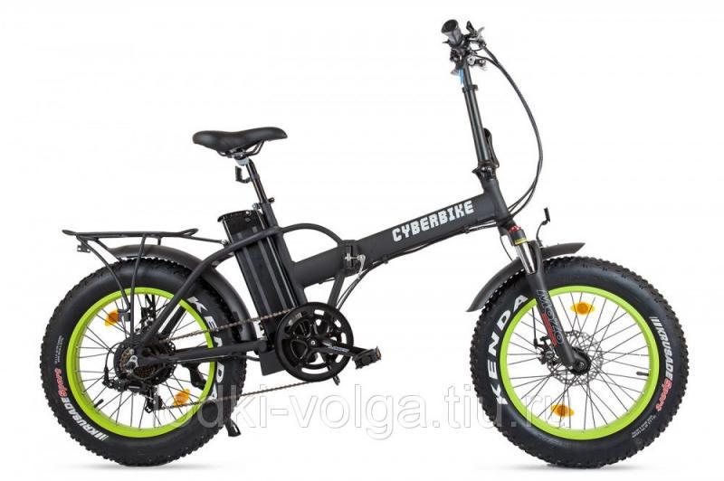 Велогибрид Cyberbike 500 Вт Черно-зеленый-1863