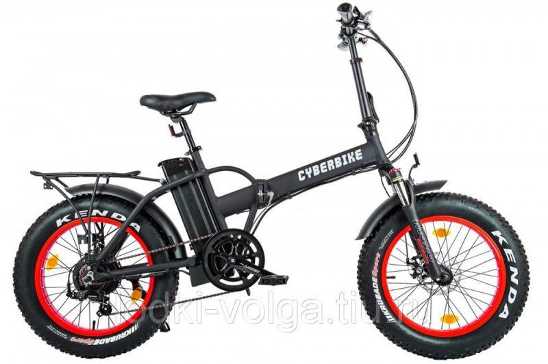 Велогибрид Cyberbike 500 Вт Черно-красный-1861
