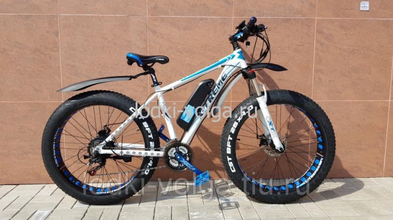 Электровелосипед X-TREME E-BIKE FATBIKE 26ALFAT ( 21 скор., аккум 48 V 11.6 AH,500 W)