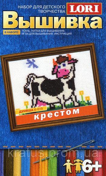 В-019 Набор для вышивания крестиком «Дуняша»