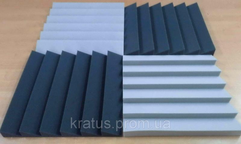 Акустические панели «Оптима 500»  0,5х0,5м толщина 50мм комплект  4шт.