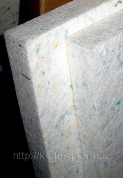 Поролон вторично вспененный  толщина 40мм (плотность 140 кг/м3) 1х2м