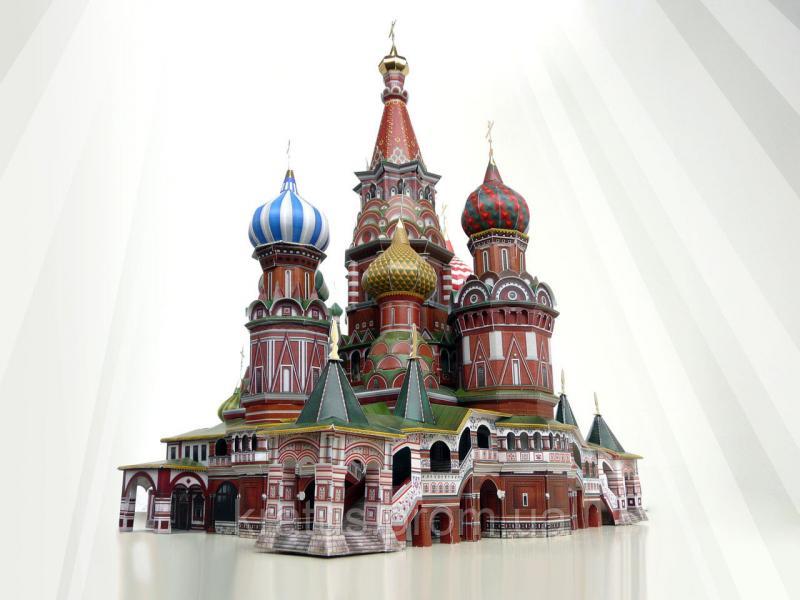 195 Коллекционный 3D пазл  «Храм Василия Блаженного»