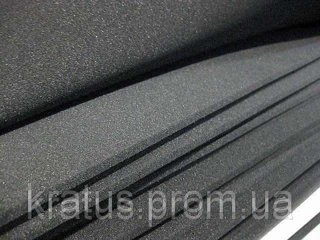 Поролон листовой темно-серый 1х2м  толщина 5мм
