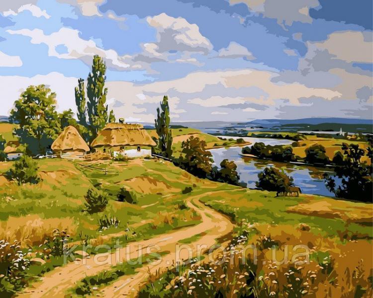 Фото Картины на холсте по номерам, Моя Україна VP 350