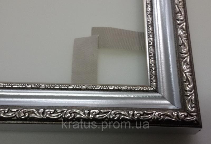 """Багеты (рамки) """"Серебро"""" для картин  размером 40х30мм"""