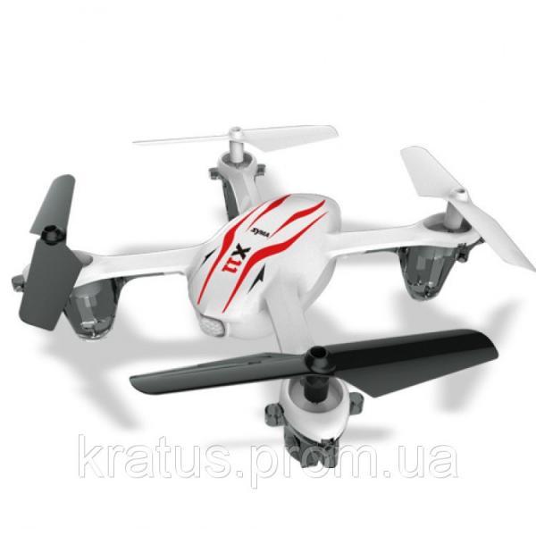 Фото Развивающие игрушки, Интерактивные и радиоуправляемые игрушки, Вертолеты, квадрокоптеры Квадрокоптер X11  SYMA