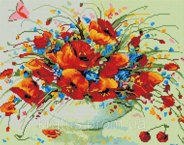 Фото Наборы для творчества со стразами (Алмазная мозаика) GZ 261 Набор для творчества алмазная живопись 50х40 см на подрамнике