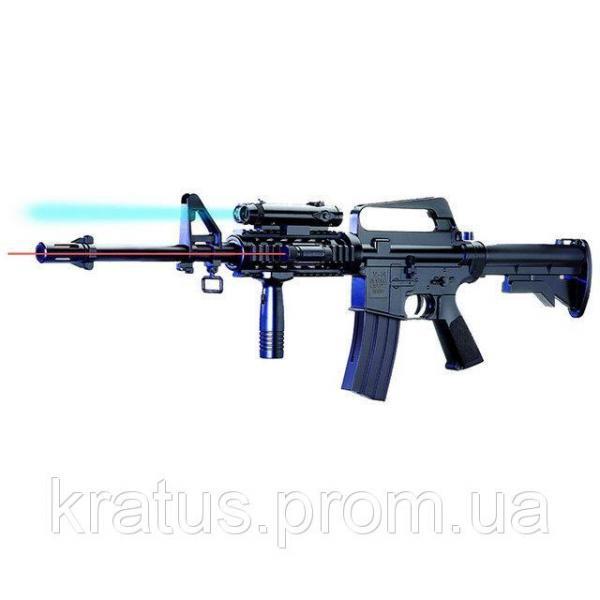 Фото Игрушечное Оружие, Стреляет пластиковыми 6мм  пульками, Автомат, пулемет, карабин 221А+ Карабин