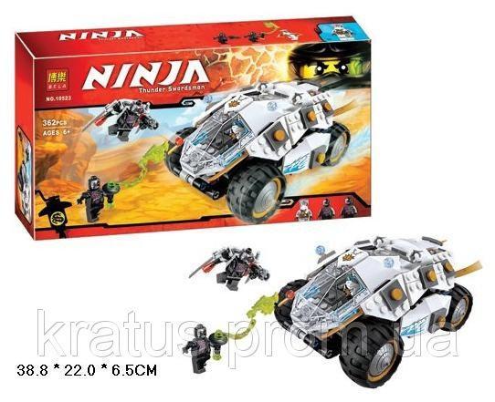 "10523 Конструктор Bela (06040 Lepin)  (Аналог Lego 70588) ""Внедорожник титанового ниндзя"" 362 д."