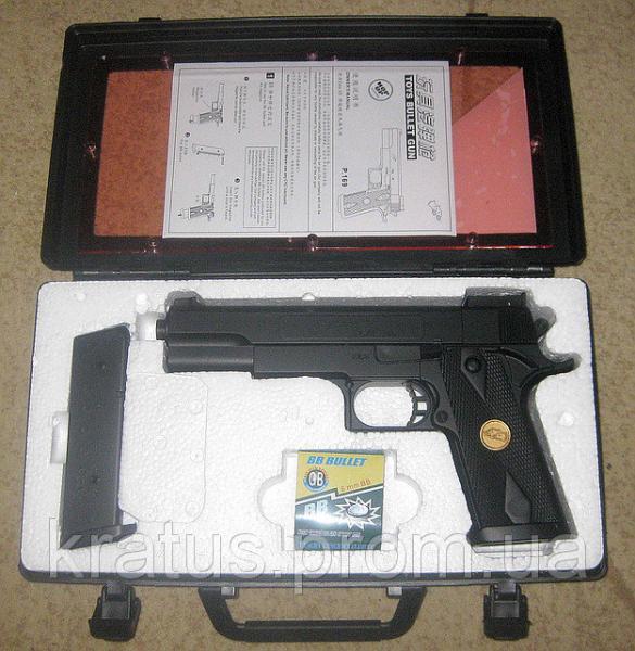 """Пистолет типа """"Кольт""""  P169а"""