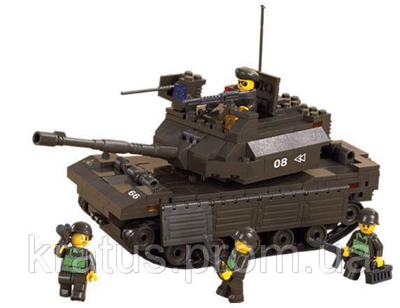M38-B6500 серия «Армия» Конструктор Sluban легосовместимый 312 дет.