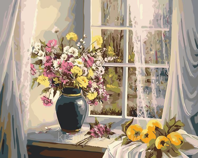 "AS 0011 ""Летнее утро"" Картина по номерам на холсте Art Story 40x50см"