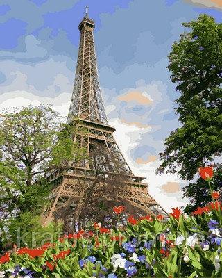"NB 820 ""Цветы весеннего Парижа""  Babylon Premium 40x50см"
