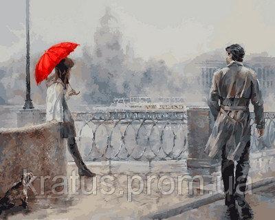 Фото Картины на холсте по номерам, Романтические картины. Люди VP 732 Роспись по номерам на холсте 40х50см